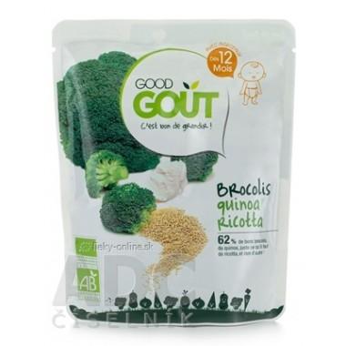 Good Gout BIO Quinoa s brokolicou a ricottou