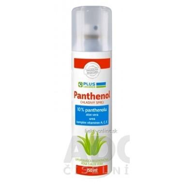 PLUS LEKÁREŇ Panthenol 10% CHLADIVÝ SPREJ