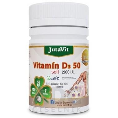 JutaVit Vitamín D3 50 soft