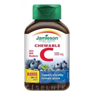 JAMIESON VITAMÍN C 500 mg čučoriedka