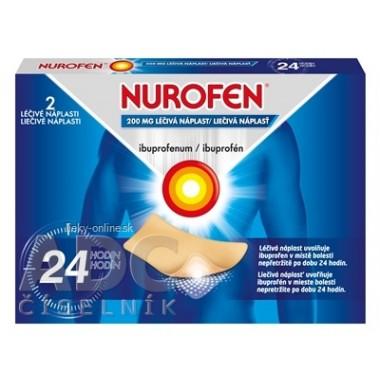 NUROFEN 200 mg liečivá náplasť