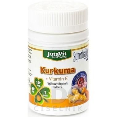 JutaVit Kurkuma + Vitamín E